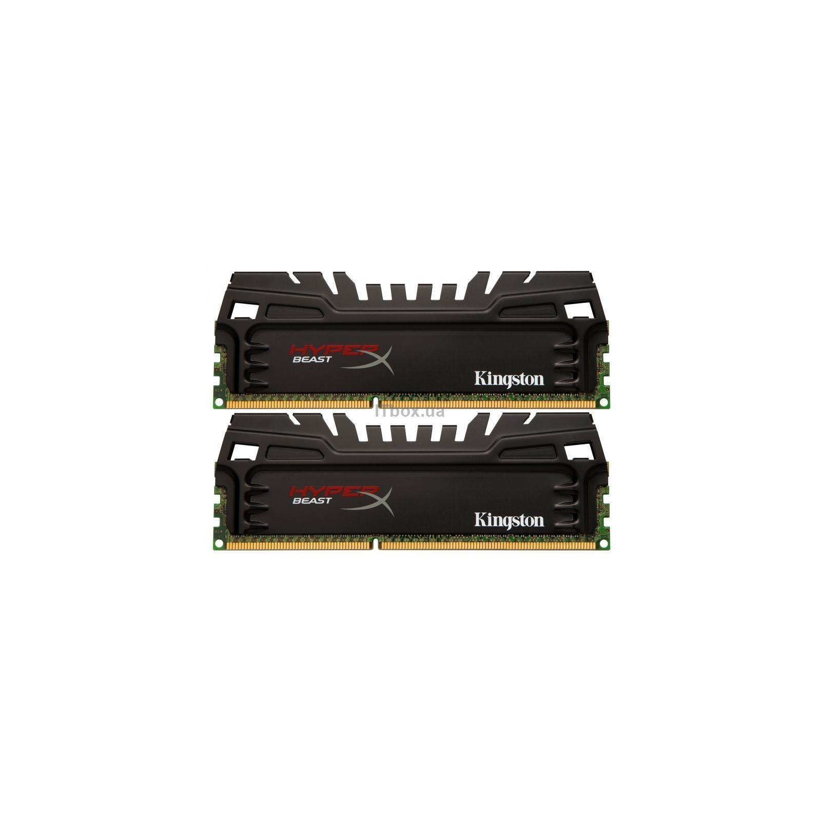 Модуль памяти Kingston HyperX Predator PC3-19200 DIMM DDR3 2400MHz - 8Gb KIT (2x4Gb) HX324C11T2K2/8 CL11