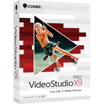 corel VideoStudio Pro X9 ML EU box VSPRX9MLMBEU