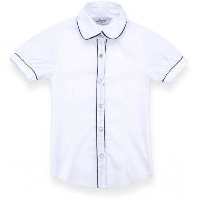 a-yugi с коротким рукавом 1576-122G-white