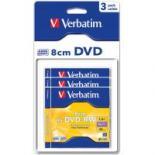 Диск DVD Verbatim mini 1.4Gb 4X Blister 3шт Фото