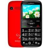 Мобильный телефон Sigma Comfort 50 Slim Red-Black Фото
