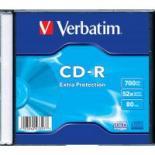 Диск CD Verbatim 700Mb 52x Slim case 200шт Non-AZO Фото