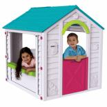 Игровой домик Keter Holiday Play House WM Turquoise Фото