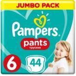 Подгузник Pampers трусики Pants Extra large Размер 6 (16+ кг), 44 шт Фото