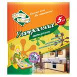 Салфетки для уборки Мелочи Жизни универсальные 4+1 шт Фото