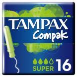 Тампоны Tampax Compak Super с апликатором 16 шт Фото