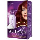 Краска-мусс для волос Wellaton стойкая 55/46 Екзотический красный Фото
