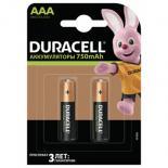 Аккумулятор Duracell AAA HR03 750mAh  * 2 Фото
