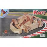 Сборная модель Мир деревянных игрушек Карт Фото