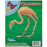 Сборная модель Мир деревянных игрушек Фламинго Фото