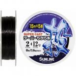 Поводковый материал Sunline TAPERED CHIKARA-ITO 75м (5x15m) #2-#12/0.235мм-0,5 Фото 1