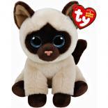 Мягкая игрушка Ty Beanie Babies Сиамская кошка Jaden 15 см Фото