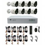 Комплект видеонаблюдения GreenVision GV-K-G03/08 720 Фото