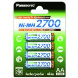 Аккумулятор PANASONIC High Capacity  AA 2700 mAh * 4 Фото