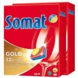 Таблетки для посудомоечных машин Somat Голд Duo 2x40шт Фото