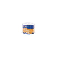 Диск DVD Verbatim 4.7Gb 16X Wrap-box 50шт MATT SILVER Фото