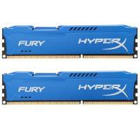 Модуль памяти для компьютера Kingston DDR3 8Gb (2x4GB) 1600 MHz HyperX Fury Blu Фото