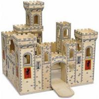 Игровой набор Melissa&Doug Деревянный рыцарский замок Фото