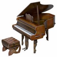 Сборная модель Умная бумага Рояль (коричневый) Фото