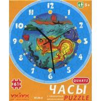 Пазл Умная бумага Часы Золотая рыбка Фото