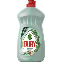 Засіб для ручного миття посуду Fairy Нежные руки Чайное дерево и Мята 500 мл Фото