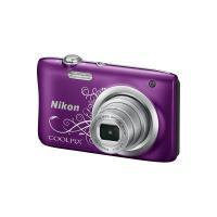Цифровой фотоаппарат Nikon Coolpix A100 Purple Lineart Фото