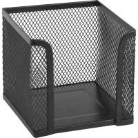 Подставка-куб для писем и бумаг Axent 100х100x100мм, wire mesh, black Фото