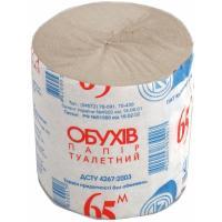 Туалетная бумага Обухів 65 м 1 шт Фото