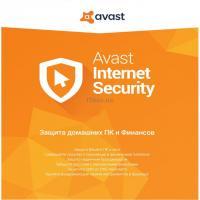 Антивирус Avast Internet Security 3 ПК 1 год Box Фото