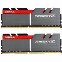 Модуль пам'яті для комп'ютера G.Skill DDR4 16GB (2x8GB) 3200 MHz Trident Z Silver H/ Red Фото