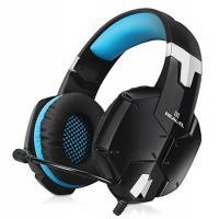 Навушники REAL-EL GDX-7500 black-blue Фото