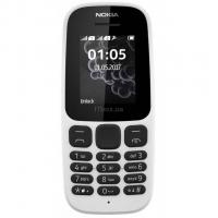 Мобильный телефон Nokia 105 SS New White Фото