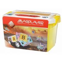 Конструктор Magplayer магнитный набор бокс 81 эл Фото
