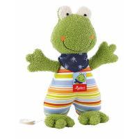 М'яка іграшка Sigikid музыкальная Лягушка 23 см Фото