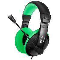Наушники GEMIX W-300 black-green Фото