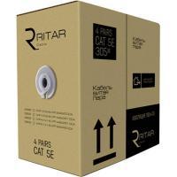 Кабель мережевий Ritar UTP 305м КНПп (4*2*0,51) [СCA] внешний, проволока Фото