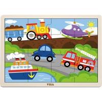 Пазл Viga Toys Транспорт Фото