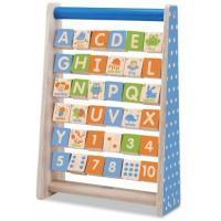 Розвиваюча іграшка WonderWorld Доска с английскими буквами Фото