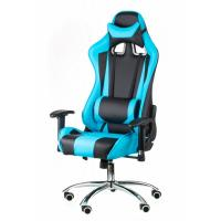 Крісло ігрове Special4You ExtremeRace black/blue Фото