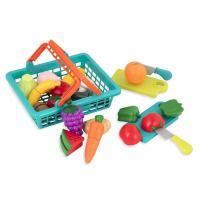 Игровой набор Battat Овощи-фрукты на липучках Фото