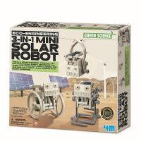 Набор для экспериментов 4М Робот на солнечной батарее 3-в-1 Фото