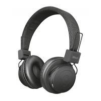 Наушники Trust Leva Wireless Over-Ear Mic Black Фото