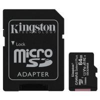Карта памяти Kingston 64GB micSDXC class 10 A1 Canvas Select Plus Фото