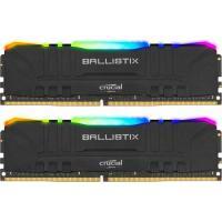 Модуль пам'яті для комп'ютера MICRON DDR4 16GB (2x8GB) 3200 MHz Ballistix RGB Фото