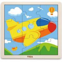 Пазл Viga Toys Самолет Фото
