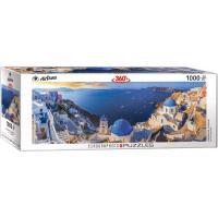 Пазл Eurographics Санторини, Греция, 1000 элементов панорамный Фото