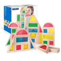 Ігровий набір Guidecraft стандартных блоков Block Play Большая радуга, 30 ш Фото
