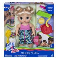 Кукла Hasbro Baby Alive Малышка и лапша Фото