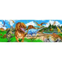 """Пазл Melissa&Doug Мега """"Краіна динозаврів"""", 48 елементів Фото"""