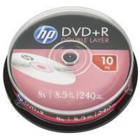Диск DVD HP DVD+R 8.5GB 8X DL 10шт Spindle Фото